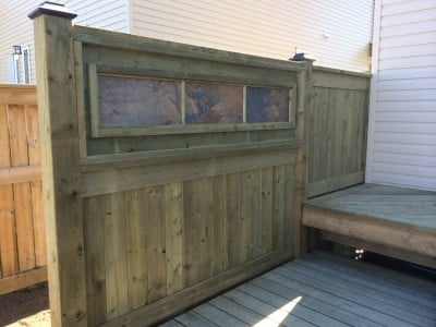 Pressure Treated Fence