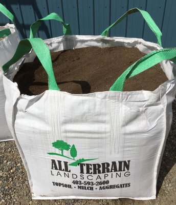 1 Cubic Yard Bag of Topsoil