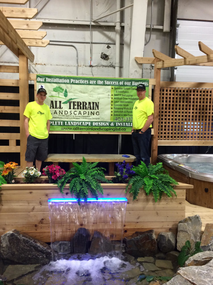 The Owners of All Terrain Landscaping